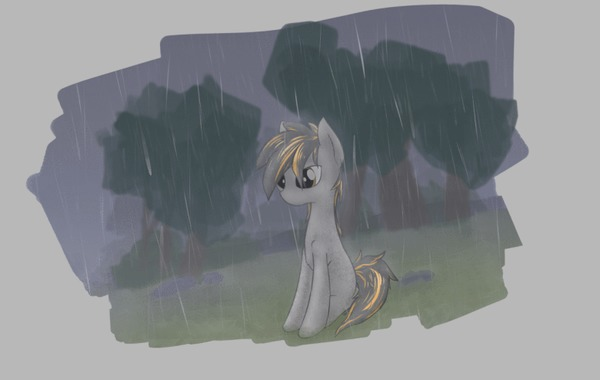 Entropy Growth My Little Pony, Original Character, Smokey Debt, Гифка