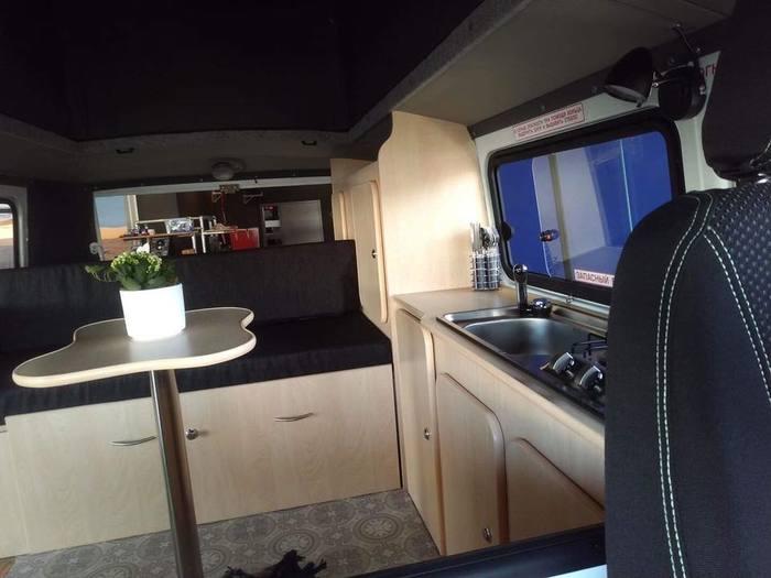 Автодом на базе новой Буханки от голландского дилера УАЗ Уаз, Дом на колесах, Кемпер, Голландия, Нидерланды, Длиннопост, Уаз буханка