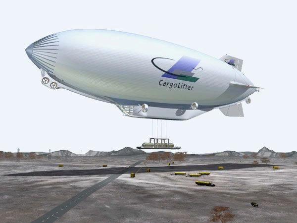 Почему гигантские краны-дирижабли так и не взлетели? Дирижабль, Cargolifter AG, Длиннопост, История авиастроения, Грузоперевозки, Мечта