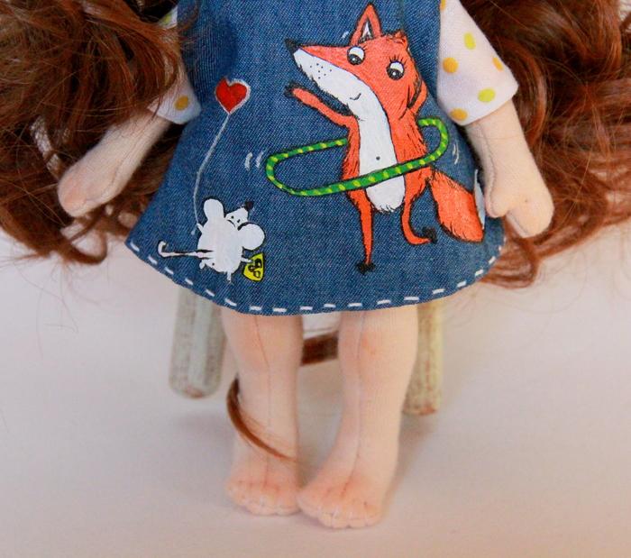 Неклубничка) Кукла, Рукоделие без процесса, Рукодельники, Текстильная кукла, Длиннопост