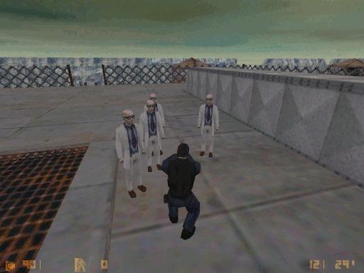 Counter-Strike Beta 1.x - Обзор (Часть 5-я) Counter-Strike, История, Длиннопост, Игры, Гифка