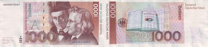 Сказки на деньгах 2 Сказка, Банкноты, Деньги, Гримм, Братья Гримм