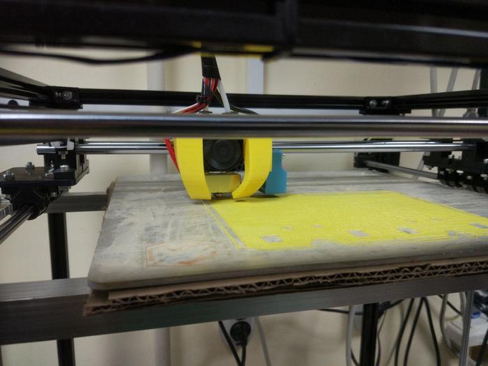 """FLSUN Cube (моя борьба) 115°С за 8 минут или """"утепление стола 3D принтера из говна и палок"""". 3D принтер, Flsun Cube, Утепление стола 3D принтера, Длиннопост"""