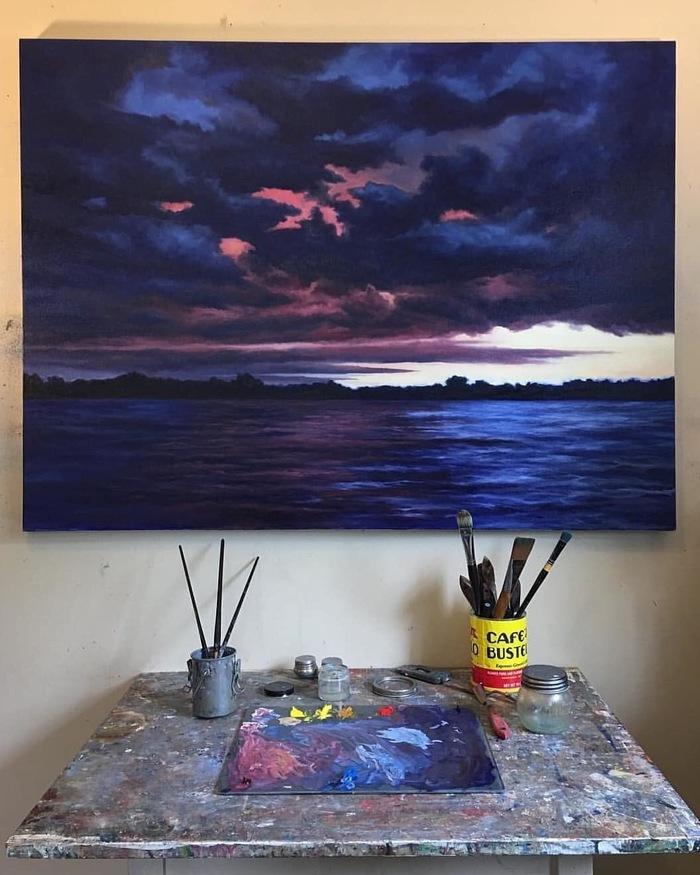 Океан Арт, Картина, Рисунок, Художник, Искусство, Море, Океан, Edward Duff