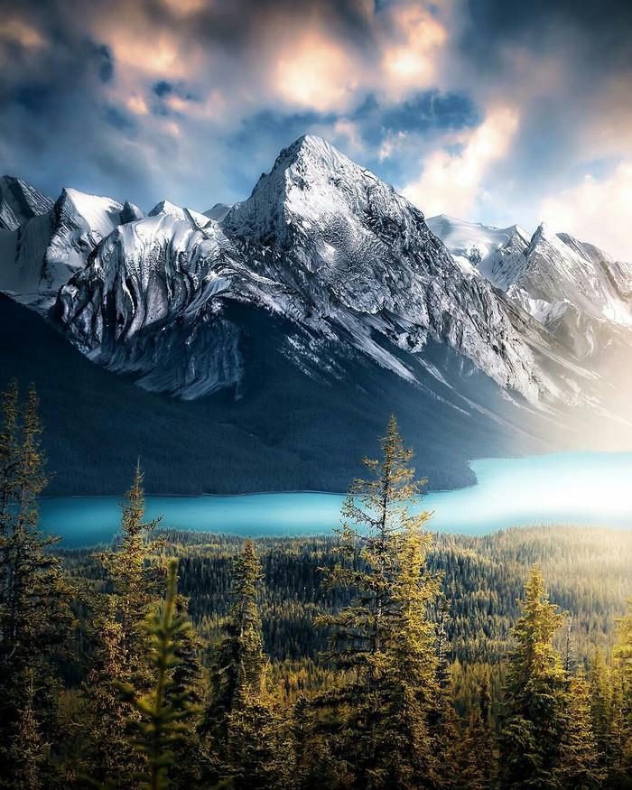 Национальный парк Канады -Джаспер.