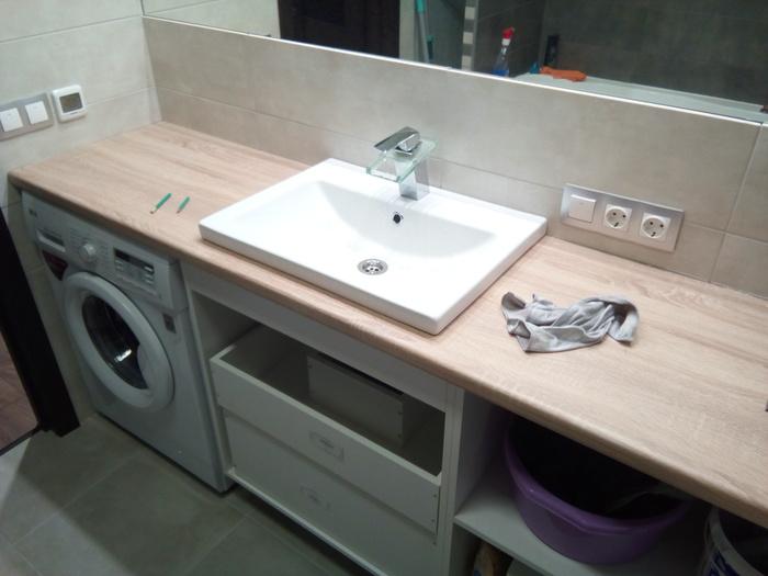 Мебель в ванную комнату своими руками