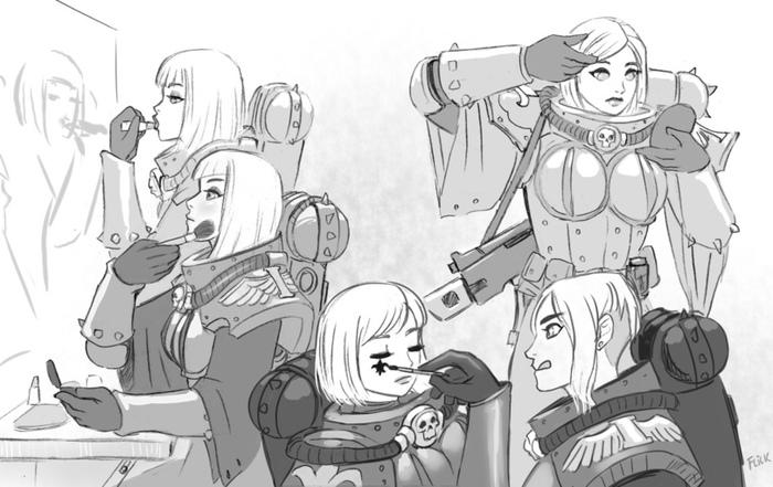 Император защитит укладку и макияж.