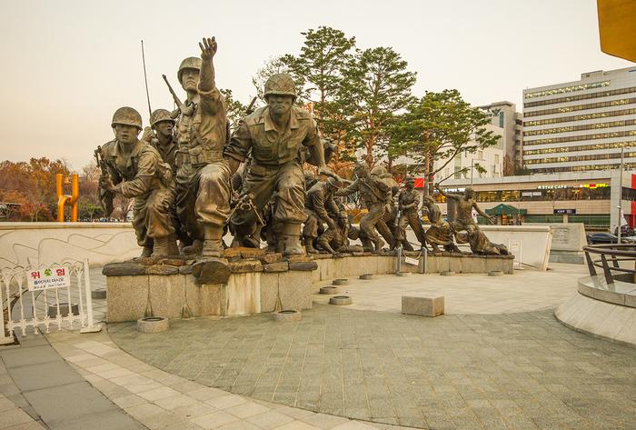 Военный мемориал в Сеуле Путешествия, Южная Корея, Сеул, Длиннопост, Лига фотографов