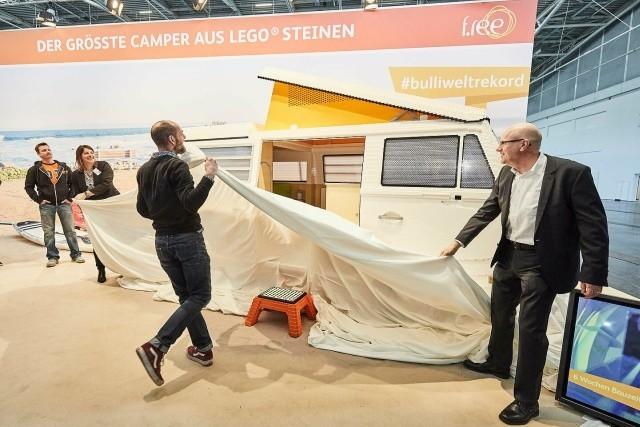 Уникальный фургон Volkswagen T2, собранный из LEGO Конструктор, LEGO, Германия, Длиннопост