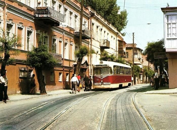 Тбилиси 1975 год Тбилиси, СССР, Историческое фото, 70-е, Длиннопост