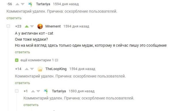 Иногда так много вопросов и так мало ответов Комментарии на Пикабу, Скриншот, Модератор