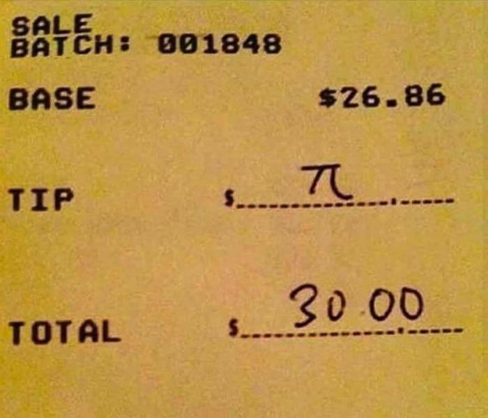 Чаевые математика