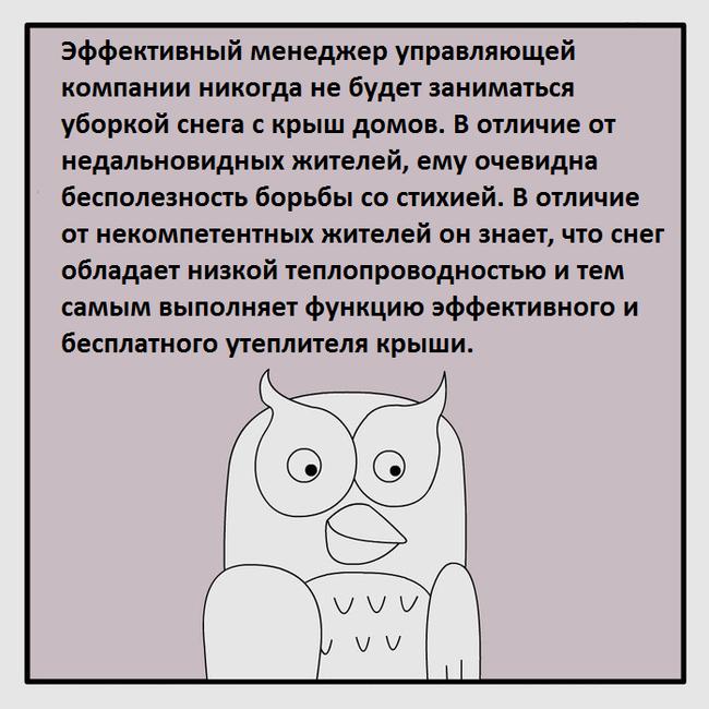 Законы природы - во благо общества Фанфики об эффективной сове, Юмор, Работа