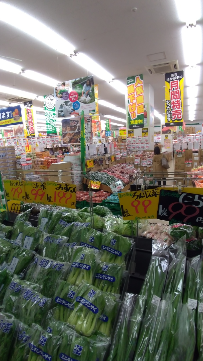 Обзор японских супермаркетов Япония, Фукуока, Супермаркет, Обзор, Длиннопост