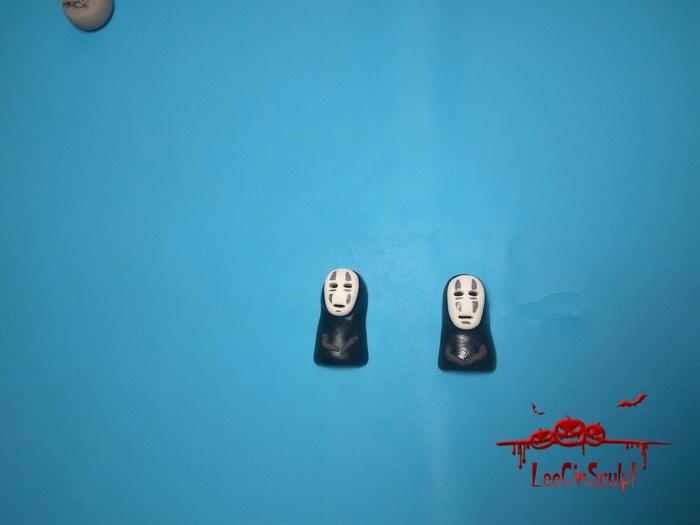 """Безликие из """"Унесенные призраками"""" легче некуда! Безликий, Полимерная глина, Рукоделие с процессом, Унесенные призраками, Leecinsculpt, Длиннопост, Хаяо Миядзаки"""