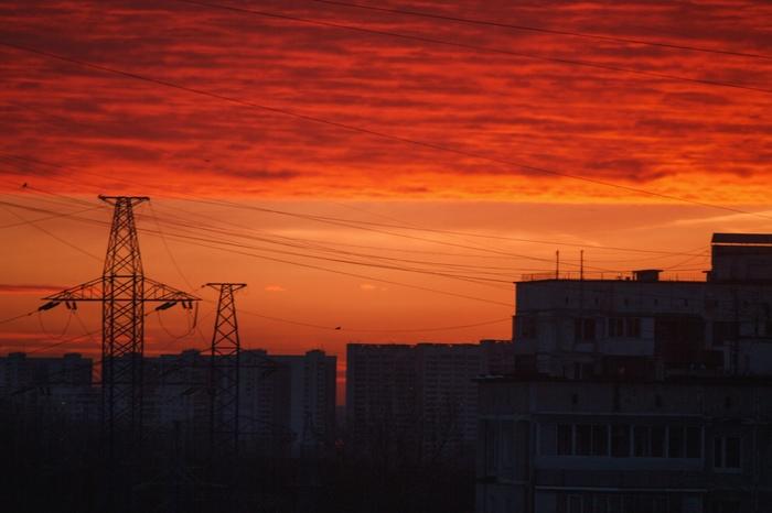 Восход Восход, Солнце, Москва, Фотография
