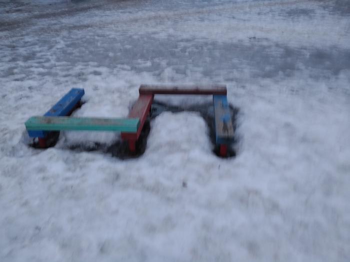 Детская площадка...... Детская площадка, Помойка, Длиннопост