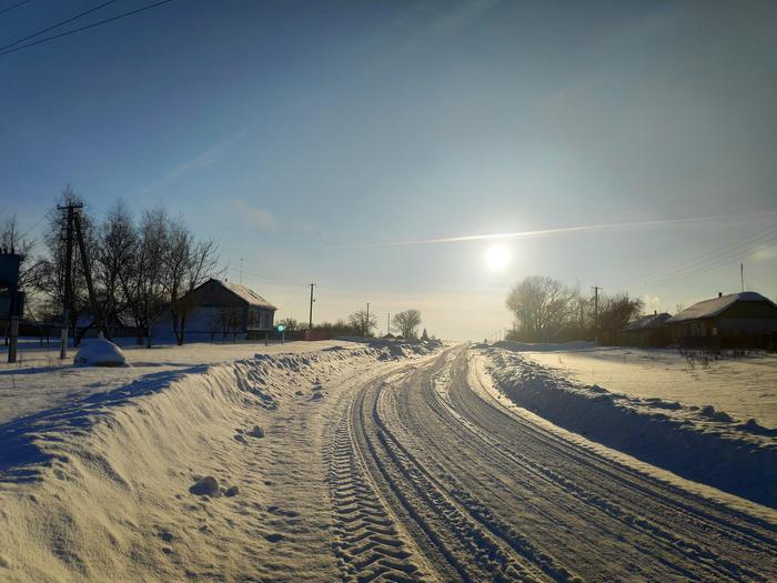 Тихая зима