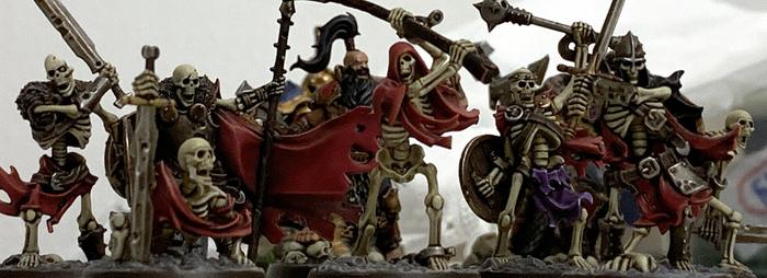Warhammer Underworlds. Sepulchral Guard Warhammer, Wh miniatures, Warhammer: Age of Sigmar, Покраска миниатюр, Миниатюра, Хобби, Warhammer Fantasy Battles, Shadespire, Длиннопост