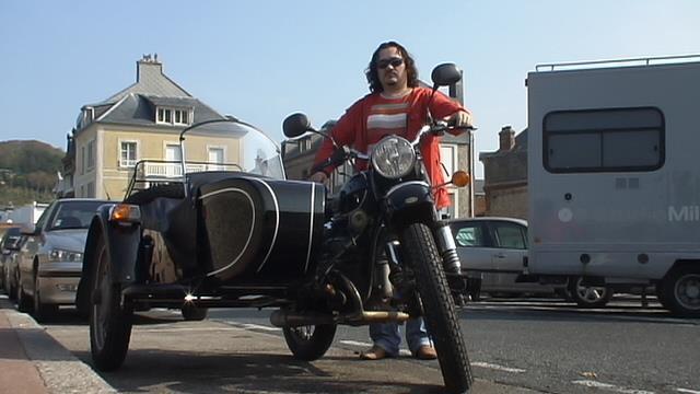 Есть настоящие ценители Мотоцикл Урал, Наши заграницей