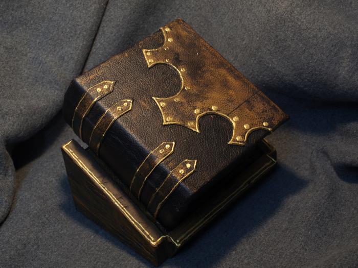 Шкатулка-книга на замочке Кай Йара, Книги, Шкатулка, Загадка, Магнитный замок, Длиннопост