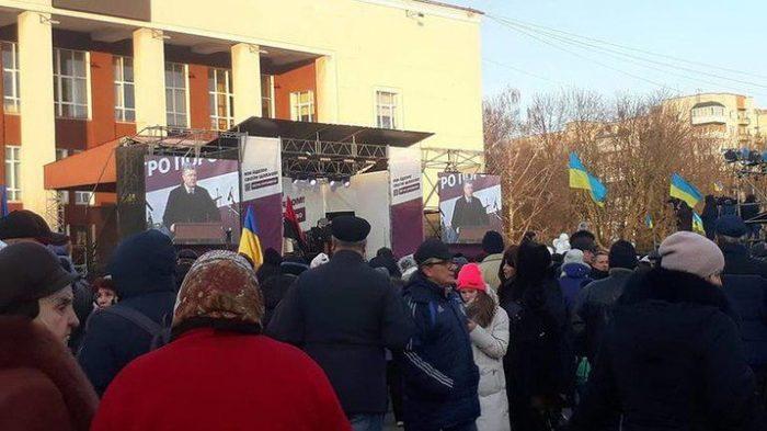 Порошенко вместо зарплат раздал шахтёрам оскорбления Политика, Украина, Олигархи, Петр Порошенко