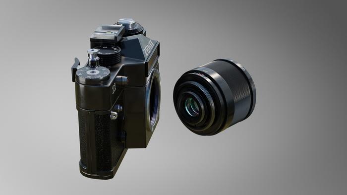 ЗЕНИТ-11 3D, Blender, Cycles, Длиннопост