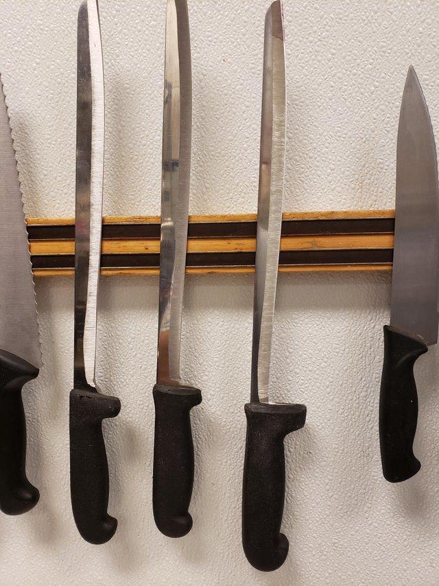 Многое повидавшие ножи