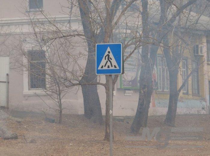 О чём поют воробушки в последний день зимы? (Хабаровск) Хабаровск, Дым, Пожар, Дальний Восток, Длиннопост