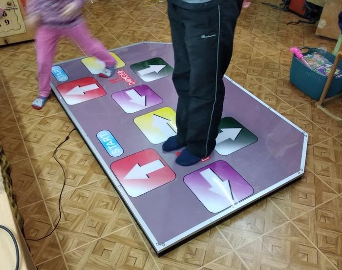 Танцевальная платформа для DDR Танцы, Фанера, Dance Dance revolution, Магнит, Платформа, Длиннопост