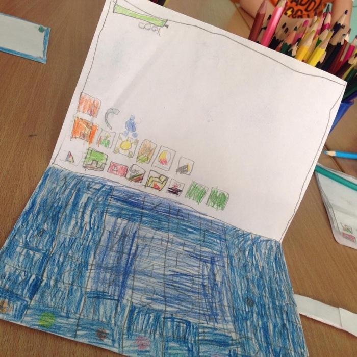 Когда детям комп низя, но очень хочется- работает смекалка и воображение:) Самоделки, Дети, Длиннопост