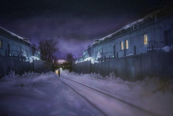 Захотелось сказки) Фотография, Зима, Photoshop, Учусь, Осваиваю фотошоп