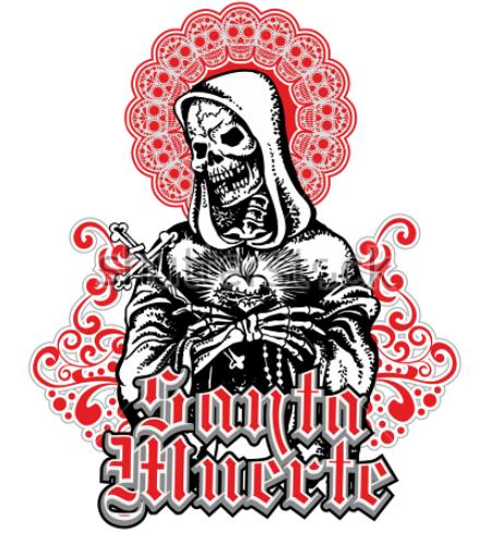 Holy Death, design t shirts