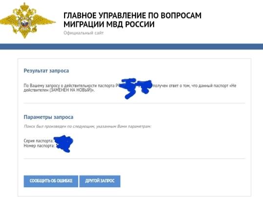 Недействительный действительный паспорт Паспорт, Ошибка, Длиннопост, Скриншот
