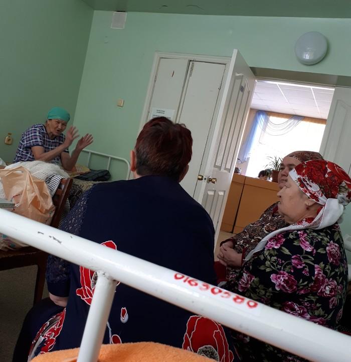 Русская бабушка держит оборону Больница, Бабушка, Длиннопост