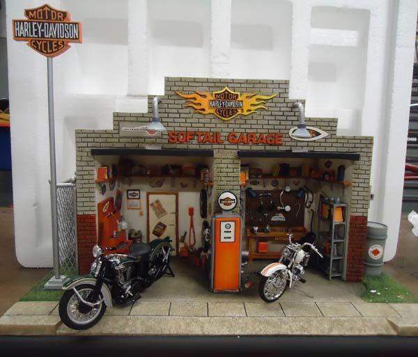 Диорамы на тему мото Мото, Мотоциклы, Диорама, BMW, Harley-Davidson, Ktm, Длиннопост