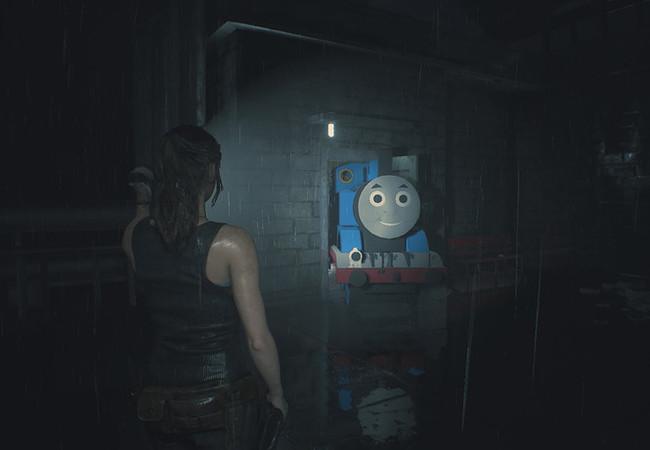 Хочу все знать #132. Главного зомби в игре Resident Evil 2 заменили на паровозик Томас. Хочу все знать, Компьютерные игры, Моды, Resident Evil 2, Геймеры, Лига геймеров, Новости, Видео