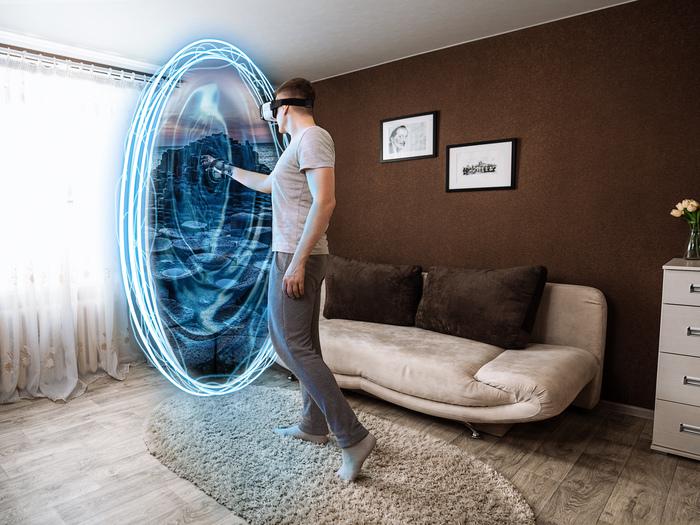 Реальная виртуальность. Фотография, Виртуальная реальность, Фотошоп мастер, Отфотошопьте, Автопортрет, Длиннопост