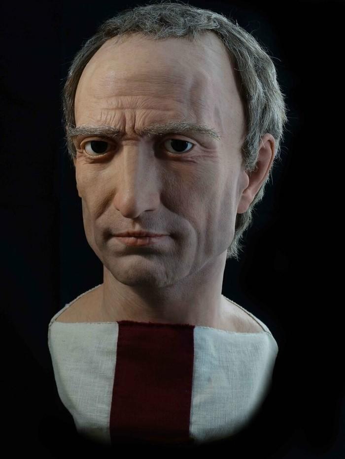 Молодой итальянский скульптор воссоздаёт реалистичные скульптуры римских императоров Скульптура, Реконструкция внешности, Римская империя, Длиннопост