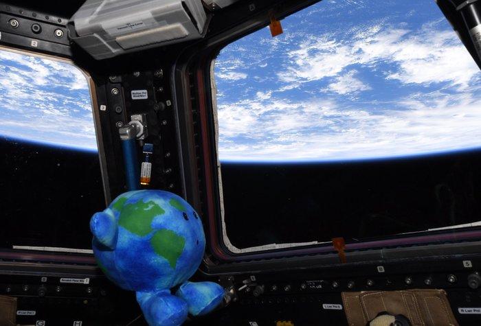 Да, приятель. Это твоя мать - Земля. Разве она не прекрасна ? Земля, Earth, Anne McClain, Mcclain, Макклейн, МКС, Iss, Космос