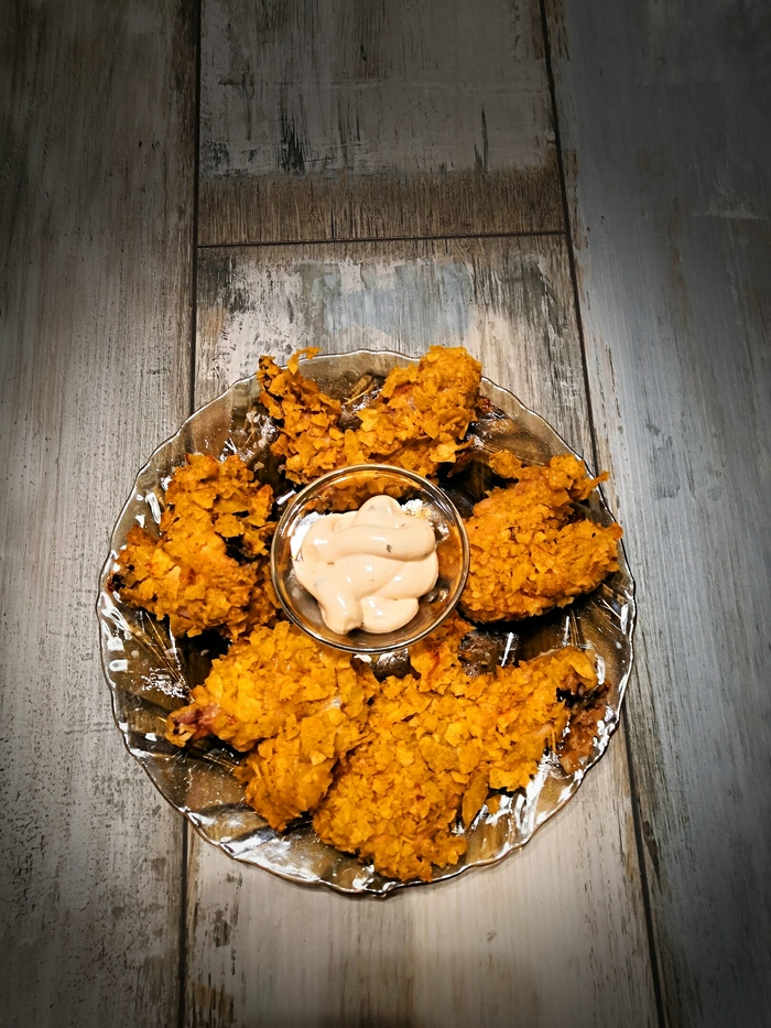 Спасибо, Пикабу, за вкусный рецепт куриных крылышек) Готовим дома, Курица, Еда, Длиннопост, Рецепт