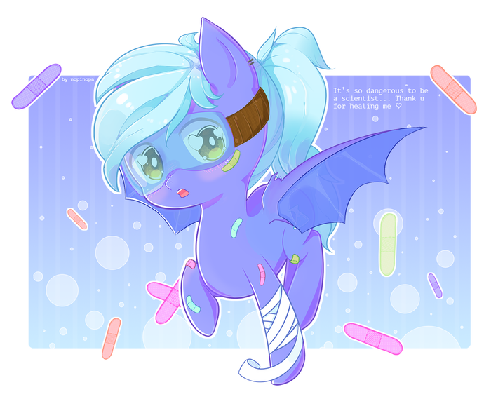 Heal me please [FC, YCH] My Little Pony, Original Character