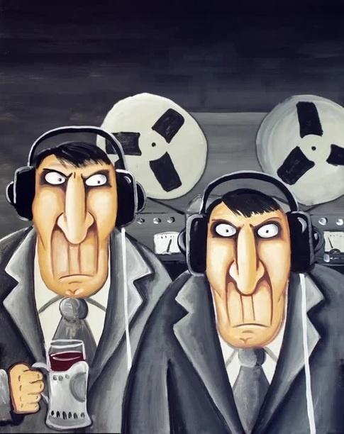 Большой брат следит за тобой... Реклама, Большой брат, Паранойя, Дурдом, Юмор, Длиннопост
