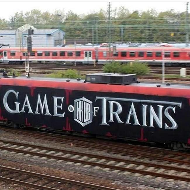 Игра поездов