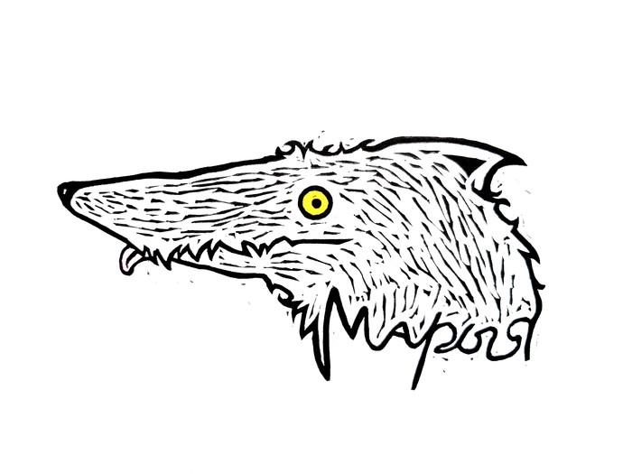 Мой знак Арт, Знаки, Волк, Символ, Логотип, Искусство, Дизайн, Длиннопост, Рисунок