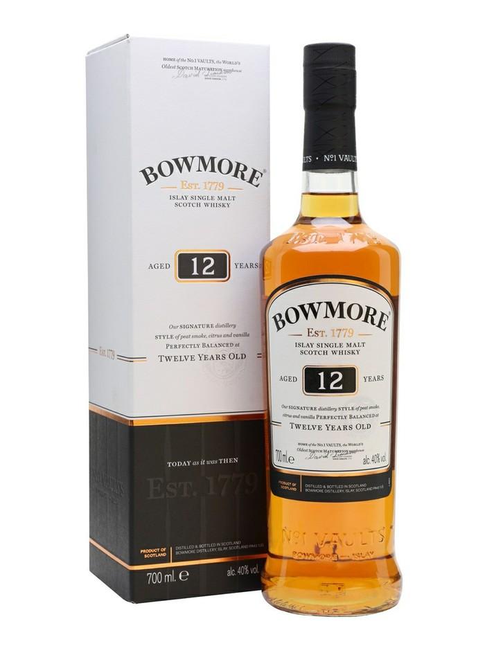 Bowmore 12 y.o. Шотландский виски, Виски, Алкоголь, Выбор напитка, Длиннопост