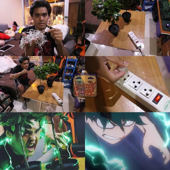 Немного бюджетного косплея Косплей, Boku No Hero Academia, Аниме, Длиннопост
