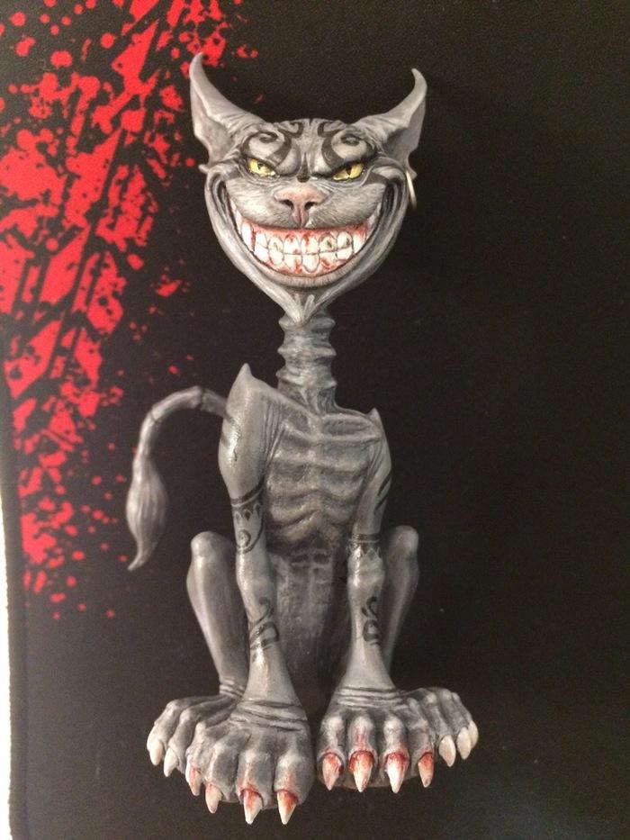 Чеширский кот Чеширский кот, Лепка, Alice: Madness Returns, Длиннопост