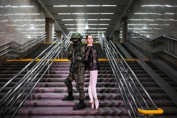 8 марта Военные, Балерины, Фотосессия, 8 марта, Фотография, Красота, Длиннопост