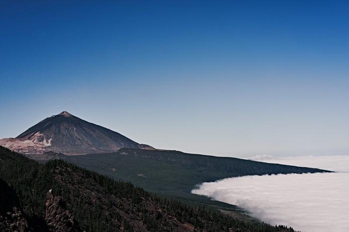 Вулкан Тейде Тейде, Вулкан, Облака, Природа